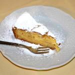 Una deliziosa torta di mele fatta in casa...